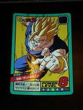DRAGON BALL GT Z DBZ SUPER BATTLE POWER LEVEL CARDDASS CARD CARTE 400 JAPAN NM