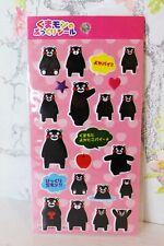 Kumamon 3D Puffy Stickers Anime Kawaii Japanese Black Bear Panda Scrapbooking