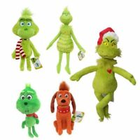 Grinch Doll How the Grinch Stole Christmas Stuffed Plush Toy Grinch Xmas Gift