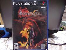 JEU PLAYSTATION 2 PS2 - DRAKENGARD