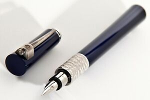 New ,Rare Waterman Serenite Blue Fountain Pen is a special And Numbered.