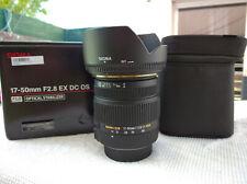 Sigma 17-50mm F2.8 EX DC OS HSM pour NIKON état comme neuf