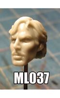 "ML037 Tony Stark Custom Sculpt Cast head use w/6"" Marvel Legends"
