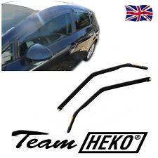 SEAT LEON mk2 FR CUPRA 5-DOOR 2005-2012 WIND DEFLECTORS  4pc HEKO TINTED