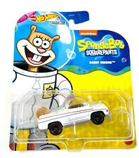Hot Wheels - BRAND NEW RELEASE - SANDY CHEEKS  - Character Car- GYB20