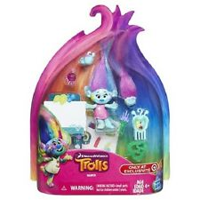 DreamWorks Trolls Harper Artist Blue Troll Play Set Target Exclusive NEW