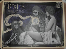 The Pixies 2018 Camden Nj Poster Screen Print Timothy Pittides Signed Ap Vices