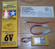 Tamiya VINTAGE Ni-Cd 6V-150mAh Mini Battery Pack NEW 55016