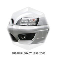 For Subaru Legacy Eyebrows Eyelids EyeLine BE BH Unpainted 1998-2002 2 pcs