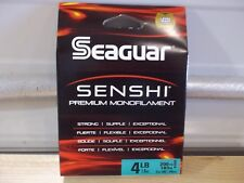Seaguar Senshi 4 pound test 200 yards green Nib
