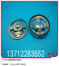 57mm internal magnetic transparent waterproof 8oh2W speaker thickness 12.5mm