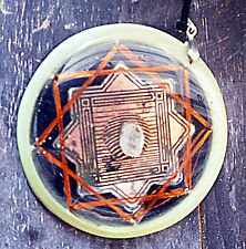 Crop Circle Octahedric Resonator Pranic Device Orgone Energy Generator