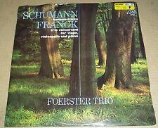 Foerster Trio SCHUMANN Fantasiestucke FRANCK Trio - Supraphon 1 11 1094 SEALED