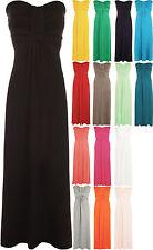 Full Length Viscose Party Patternless Dresses for Women