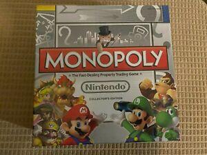 Monopoly Nintendo Collector's Edition (Version 2) with 6 Collectible Tokens Rare