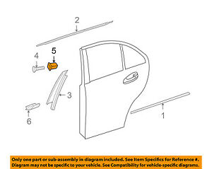 MERCEDES OEM 09-16 E350 Exterior-Rear-Applique Nut 0009983385