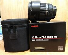 Sigma EX 17-50mm F/2.8 XE DC OS Lens Nikon Fit