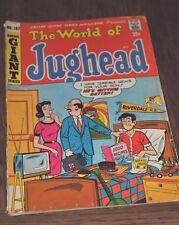 Wolrd of Jughead Archie Giant Series Comic Book 157 December 1968