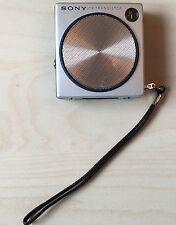 Mini Square Sony 98 Transistor Superheterodyne Radio with case