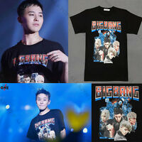 Kpop Bigbang G-Dragon T-shirt MADE FULL ANNIVERSARY Tshirt Unisex Short Sleeve
