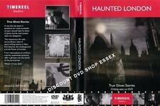 HAUNTED LONDON. TRUE GHOST STORIES.CHILLING TALES. NEW DVD SHIPS PROMPTLY