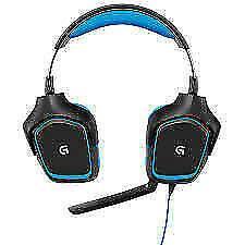 Logitech G430 Auriculares Gaming para PC - Negros