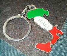 Porta Chiave Italia Stivale Italy Tricolore Original Vintage No Made in Cina