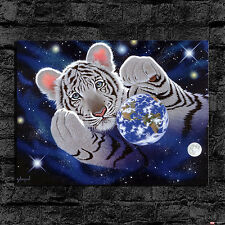 HD Canvas Print Wall Art Home Decor Oil Painting,Schim Schimmel Hug for Mother