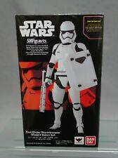 S.H. Figuarts Star Wars First Order Stormtrooper Shield & Baton Set Bandai NEW**