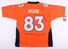 Wes Welker Signed Denver Broncos Jersey (JSA COA) 5× Pro Bowl (2008–2012)