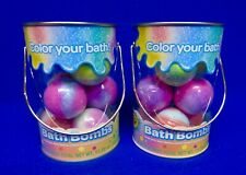 Nib Two (2) Crayola Bath Bombs Grape Jam/Laser Lemon/Cotton Candy & Bubble Gum