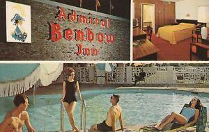 (U)  Chattanooga, TN - Admiral Benbow Inn - Signage - Guest Room - Swimming Pool