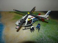Playmobil 6874 Polizeihubschrauber mit LED Schweinwerfer
