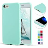 For iPhone 8 7 Case Slim Thin Soft Shockproof Silicone Gel Rubber TPU Cover