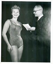 1960s Beauty Contest Winner - nice 8x10 black and white