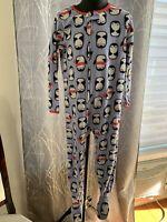 Toddler Girls 4T Carter's Just One You Penguin Fleece Footie Pajamas