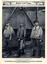 Grubenunglück in Courriéres Deutsche Rettungsmanschaft Billy Montigny Bildd.1906