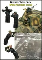 1/35 Scale German Panther Tank Crew WW2 Resin Model Kit WWII (2 Figures)