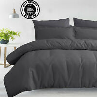 100% Pure Cotton Luxury Style Comforter Waffle Duvet Cover Set With Pillowcase