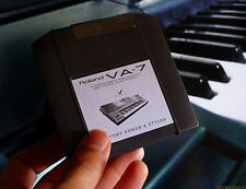 Factory Iomega Zip disquette Cartouche Roland Styles Performance Songs for VA7 VA 7