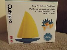 Cuisipro Snap-Fit Sailboat Pop Molds NIB