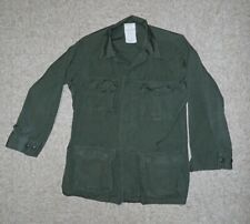 New ListingJungle Rip Stop Jacket Small Regular Straight Pocket Vietnam Era Od Green Ranger
