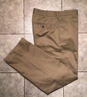 IZOD * Mens Khaki Casual Pants * Size 34 x 32 * EXCELLENT