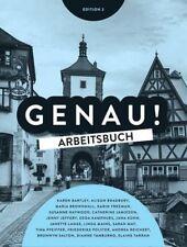 Genau! Arbeitsbuch Edition 3 German Work book with 2 CD-Roms & 1 DVD