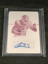 2015 PANINI NATIONAL TREASURES 1/1 - ANDRE WILLIAMS AUTO ONE OF ONE - NICE!