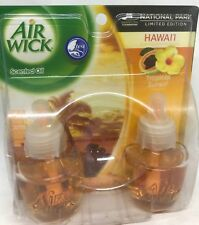 2 AIR WICK SCENTED OIL REFILLS HAWAII TROPICAL SUNSET LIMITED EDITION