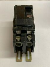 Square D 20 Amp Circuit Breaker 2-Pole Feed Thru Type Qou