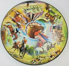 c. 1960s Springbok Circular Jigsaw Puzzle HORSES - Complete