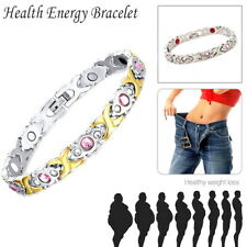 Magnetic Therapy Healing Bracelet Gold Sliver Bangle Arthritis Pain Relief