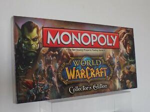 World Of Warcraft Monopoly Collectors Edition Game Factory Sealed 2012 NEW